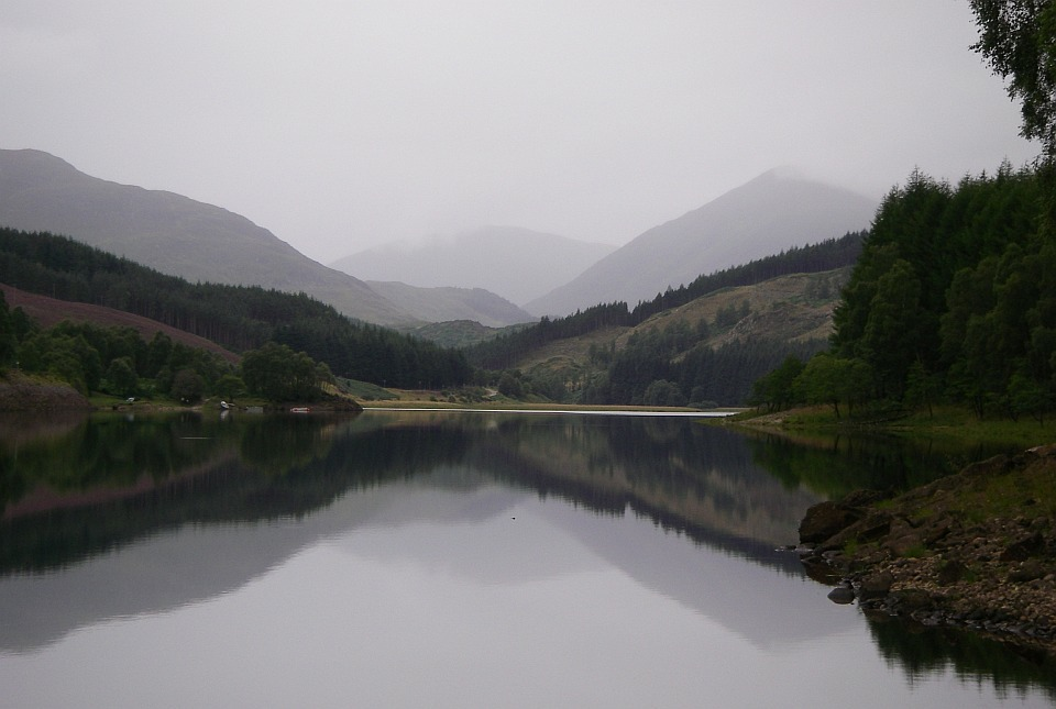 Loch Meig looking west