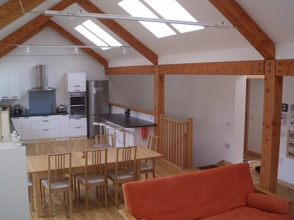 The kitchen diner in Rathad an Drobhair Self Catering Strathconon