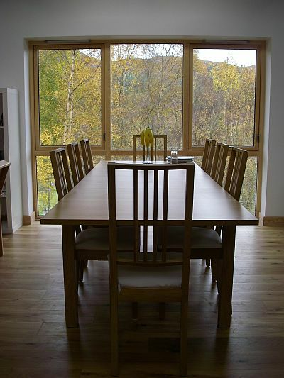 View of Strathconon from dining room